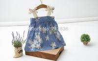 Wholesale Girls new summer baby children flowers princess dresses clothing     BB411DS-08