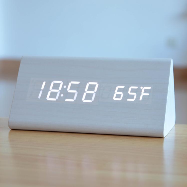 Talking Alarm Clock Portable Digital Travel Alarm Clock Luminova Lounge Hotel Table Clock Led