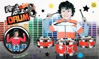 Children's toys Children learn music toys drums a set of drum Children's Percussion children birthday gifts
