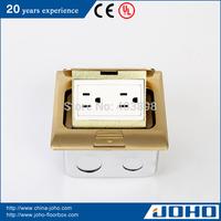 DCT-H28/GB IP44 Waterproof Brass Fast Pop Up Type Legrand Floor Box Socket