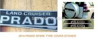 2014 prada spare tyre cover sticker