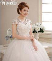 Bridal wedding dress new Korean word shoulder bag shoulder strap upscale princess lace wedding