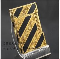 STDupont / Dupont lighters - golden crisp twill broke the original copper movement