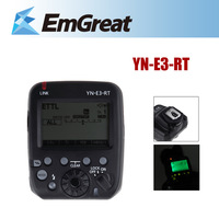 New Original Yongnuo YN-E3-RT Flash Light Speedlite Speedlight Transmitter Compatible w/600EX-RT for Canon Camera 341216501W