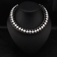 Wholesale Fashion Brand Jewelry Vintage Perfume Women Collar Costume Bijoux Colar Choker statement necklace For Christmas