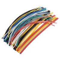 2 packs/Lot   _ 70pcs 20cm 5size 7color Polyolefin Heat Shrink Tube Sleeve Wrap Wire