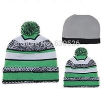 2015 Christmas Football Pom Beanies Cheap Football Beanies Brand Knitted Beanie Hats Popular Sports Team Caps Allow Mix Order