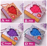 25 soap rose Flowers box set Creative romantic valentine's day gift decoration  soap roses flower home decor