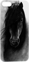 Handsome Cool Black Horse Hard Unique Designer Slim case for apple iphone 5 5S 5G