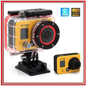 E-прыгать F990A профессиональный мини действий камеры 1080 P водонепроницаемый Full HD новатэк 96650 млн. под водой 50 м спорт дайвинг камеры HDR T20