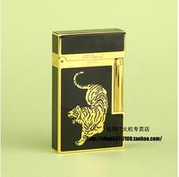 International Brand STDupont / Dupont lighters - Golden Tiger broke crisp black