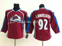 2015 New Arrival Colorado Avalanche Hockey Jerseys 92 Gabriel Landeskog Jersey,Free Shipping