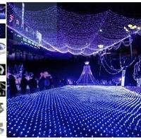 6m*4meters large LED net light lights flash lamps Nets lamp outdoor waterproof decorative street park
