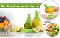 Wholesale 10Sets/lot High Quality New Style Lemon Fruit Citrus Orange Stem Sprayer Juice Maker Juicer Kitchen Supplies 2Pcs/set