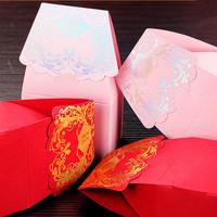 GAGA ! Free shipping pink hot silver hi word wedding sweet box   200 pcs/lot ,CF33