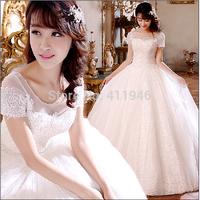 new fashion wedding dress show thin qiu dong season the bride wedding dress lace