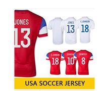 USA Soccer Jersey 2014 World Cup DEMPSEY ALTIDORE USA Jersey Top Quality USA Home Away Soccer Football Shirt