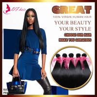 DF:5A Unprocessed Virgin Hair 5 Pcs Lot, Brazilian Virgin Hair Straight No Shedding No Tangle Free Shipping