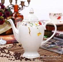 Jingdezhen ceramic tea set Coffee cup set with 15 heads and 6 high grade bone china