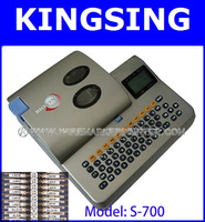 Hot Sale&Free Shipping!!!High Resolution Ratio 300dpi,Cable/Wire/Tube ID Printing Machine S-700 + Free shipping by DHL