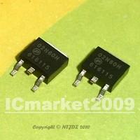 100 PCS AP02N60H AP02N60 02N60H 2N60 SMD 2A 600V N-Channel MOSFET