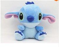 LY7531 2pcs 2014 16CM New Cute Cartoon Stitch Plush Toys Christmas/ Birthday Gift