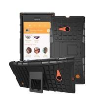 Phone Case Armor Robot Stand Holder Hard TPU&PC Cover kickstand Case For Nokia Lumia 735 730