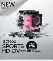 "Action Camera Full HD DVR Sport DV Original SJ5000 1080P Helmet 30M Waterproof Camera Motor Mini DV 2.0"" LCD screen"