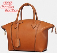 Real genuine leather bags women handbag fashion designer famous brand patchwork ladies tote shoulder bag bolsas femininas BK055