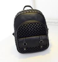 New 2014 Hand-woven backpack edition fashion lady handbags luggage bag handbag