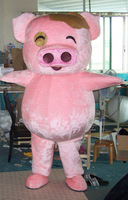 High quality McDull pig  Mascot Costume Halloween gift costume characters sex dress hot sale