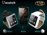 New Bluetooth Smartwatch U10 U Smart Watch for iPhone 6/5s/5/4s/4 Samsung S5/S4/Note 3 HTC Android Phone Smartphones Waterproof