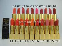 5pcs/lot Brand Makeup ROUGE ALLURE VELVET Lipstick 3.5g Lipsticks Lip Gloss 20 Colors Cosmetics Lip Stick!!!Free shipping!