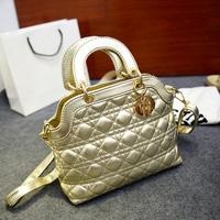 Women's bags 2014 female embroidery plaid handbag messenger bag fashion small sachet