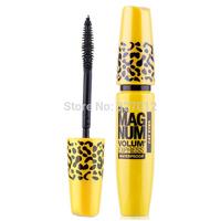 Brand new 2014 make up Leopard Case Long Curling Eyelash Transplanting Gel Makeup Mascara Flawless Definition Drop Shipping