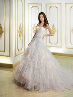 Fashion New Arrival Brand vestido de noiva 2015 Sweetheart Off the Shoulder Beaded Ruched Chapel Train A-line Wedding Dresses