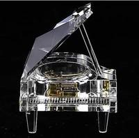 Yunsheng crystal piano music box music box christmas gift Valentine's day gift