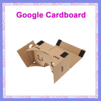 "10pcs New VR 3D Glasses DIY Google Cardboard Virtual Reality VR Mobile Phone 3D Viewing Glasses for 5.0"" Smartphone NO NFC"