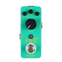 FOG PEDAL MOOER Micro FOG Bass Fuzz Pedal Classic bass fuzz tone, also sounds good on guitar
