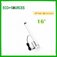 """400mm/16inch Stroke Heavy duty DC 12V 1500N/330lbs  multi-function 16"""" with feedback potentiometer linear actuator"""
