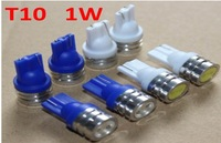 T10 1W high power LED width lamp reading lamp instrument lamp license plate lamp number plate light metal head