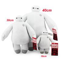 Brinquedos 18/30/40CM Big Hero 6 Baymax SOFT PLUSH TOY DOLL High Quality Christmas Birthday gift for children kids baby