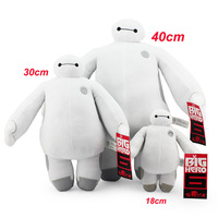 Brinquedos 18/30/40CM Big Hero 6 Baymax SOFT PLUSH TOY DOLL High Quality Christmas Birthday gift for children kids baby