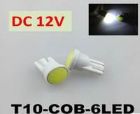 T10-COB-6 chip width lamp W5W automobile LED width lamp COB reading lamp LED driving lights
