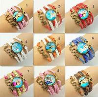 free shipping Frozen Elsa Anna Olaf Bracelet girls kids Jewellery Accessories childrens Fashion Charm Bracelets 15 designs