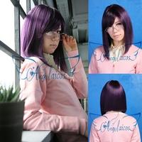 Angelaicos Tieria Erde Mobile Suit Gundam 00 Short Lady Cosplay Party Hair Full Wig