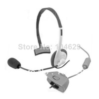 A10 New White Slim Headset Headphone microphone for XBOX360 XBOX 360 86 T0293 P