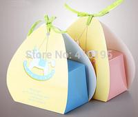 Free shipping wholesale 50pcs/lot 12*8*17cm fashion baking food packaging box,cake packaging box