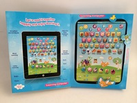 Full English learning machine touch puzzle learning machine Child learning machine Toy