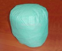Light green Disposable non-woven  round hat medical   cap 20 / bag